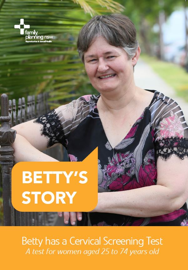 Betty's Story: Betty has a cervical screening test