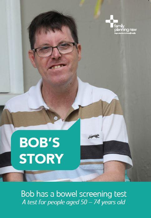 Bob's Story: Bob has a bowel screening test